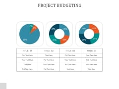 Project Budgeting Ppt PowerPoint Presentation Template