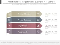 Project Business Requirements Example Ppt Sample