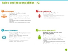 Project Capabilities Roles And Responsibilities Ppt Outline Layout Ideas PDF