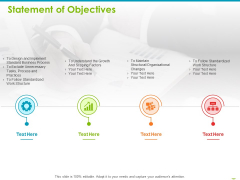Project Capabilities Statement Of Objectives Ppt Infographics Designs PDF