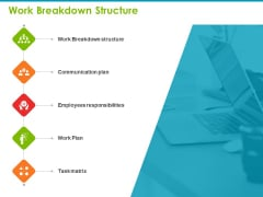 Project Capabilities Work Breakdown Structure Ppt Infographic Template Diagrams PDF