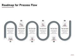 Project Capitalization Proposal Roadmap For Process Flow Ppt Show Example Introduction PDF