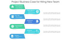 Project Case Study For Recruiting New Employee Ppt Inspiration Visual Aids PDF