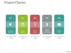 project charter ppt powerpoint presentation icon slide portrait