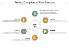 Project Compliance Plan Template Ppt PowerPoint Presentation Infographics Slide Download Cpb Pdf