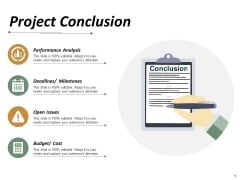 Project Conclusion Ppt PowerPoint Presentation Slides Layouts