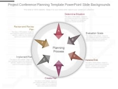 Project Conference Planning Template Powerpoint Slide Backgrounds