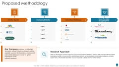 Project Consultation Services Proposal Ppt Slides Proposed Methodology Background PDF