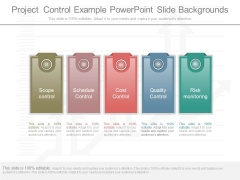 Project Control Example Powerpoint Slide Backgrounds