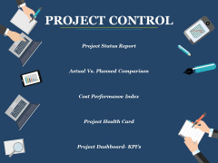 Project Control Ppt PowerPoint Presentation Inspiration Outfit