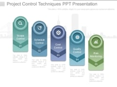 Project Control Techniques Ppt Presentation