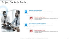 Project Controls Tools Manufacturing Control Ppt Layouts Icons PDF