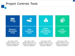 Project Controls Tools Ppt PowerPoint Presentation Styles Maker