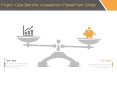 Project Cost Benefits Assessment Powerpoint Slides