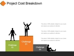 Project Cost Breakdown Ppt PowerPoint Presentation Model Deck