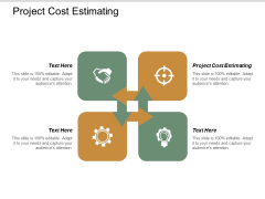 Project Cost Estimating Ppt PowerPoint Presentation Gallery Portfolio Cpb