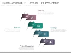 Project Dashboard Ppt Template Ppt Presentation