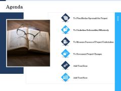 Project Deliverables Administration Outline Agenda Ppt Styles Format PDF