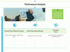 Project Deliverables Outline Performance Analysis Ppt Portfolio Outline PDF