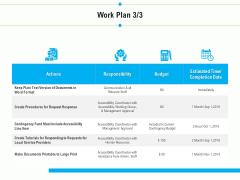 Project Deliverables Outline Work Plan Service Ppt Outline Vector PDF