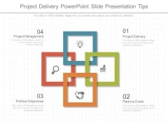 Project Delivery Powerpoint Slide Presentation Tips