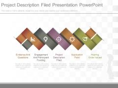 Project Description Filed Presentation Powerpoint