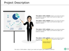Project Description Ppt PowerPoint Presentation Gallery Icon