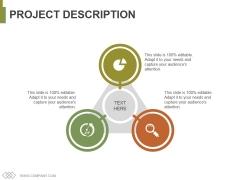 Project Description Ppt PowerPoint Presentation Gallery Information