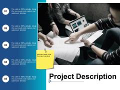 Project Description Ppt PowerPoint Presentation Icon Graphics