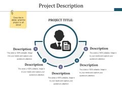 Project Description Ppt PowerPoint Presentation Infographic Template Brochure