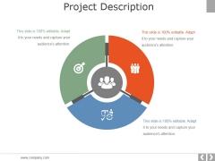Project Description Ppt PowerPoint Presentation Portfolio Slide Portrait
