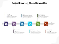 Project Discovery Phase Deliverables Ppt PowerPoint Presentation Layouts File Formats PDF