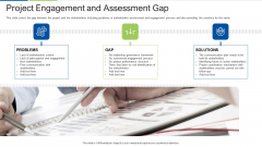 Project Engagement And Assessment Gap Template PDF