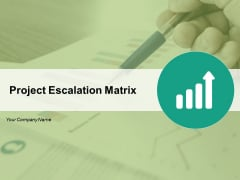 Project Escalation Matrix Ppt PowerPoint Presentation Complete Deck With Slides