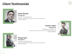 Project Estimate Client Testimonials Ppt Summary Graphics Pictures PDF