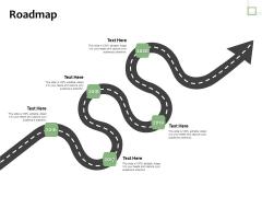 Project Estimate Roadmap Ppt Summary Files PDF