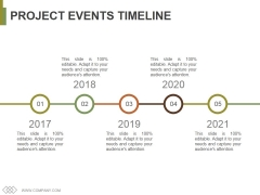 Project Events Timeline Ppt PowerPoint Presentation File Portrait