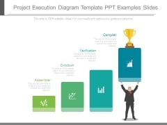 Project Execution Diagram Template Ppt Examples Slides