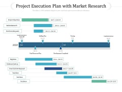 Project Execution Plan With Market Research Ppt PowerPoint Presentation File Templates PDF