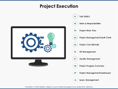 Project Execution Planning Ppt PowerPoint Presentation Background Images