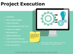 Project Execution Ppt PowerPoint Presentation Infographics Styles
