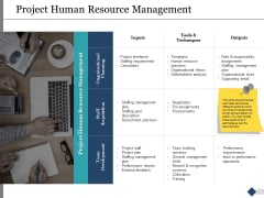 Project Human Resource Management Ppt PowerPoint Presentation Gallery Slides