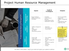 Project Human Resource Management Ppt PowerPoint Presentation Infographic Template Graphics Example