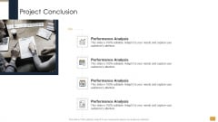 Project Ideation And Administration Project Conclusion Ppt Infographics Styles PDF