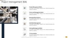 Project Ideation And Administration Project Management Skills Ppt Summary Portfolio PDF