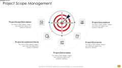 Project Ideation And Administration Project Scope Management Ppt Inspiration Outline PDF
