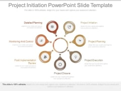 Project Initiation Powerpoint Slide Template