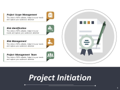 Project Initiation Ppt PowerPoint Presentation Layouts Backgrounds