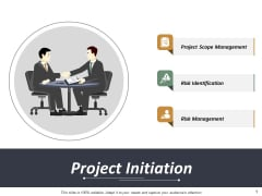 Project Initiation Risk Identification Ppt PowerPoint Presentation Pictures Sample