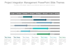 Project Integration Management Powerpoint Slide Themes